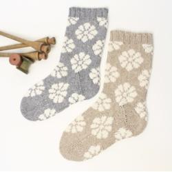 画像1: 9/15〜17『お花モチーフの靴下』[終了しました]