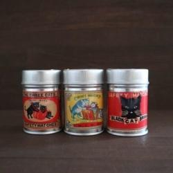 画像1: ナカムラマッチ レトロラベル缶マッチ