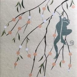 画像1: 【予告】家内制豆印刷 蛙月庵 『年越しお支度 令和篇 ー百鼠ー』