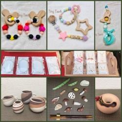 画像1: 赤ちゃん用の歯固め・アクセサリー・陶器の販売
