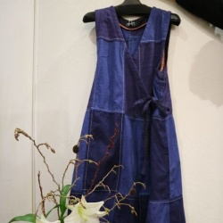 画像1: 久留米絣「オカモト商店」の儀右ヱ門、ギエモンの衣類