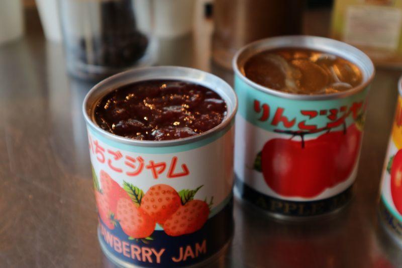 青森りんご加工株式会社のリンゴジャムとイチゴジャム
