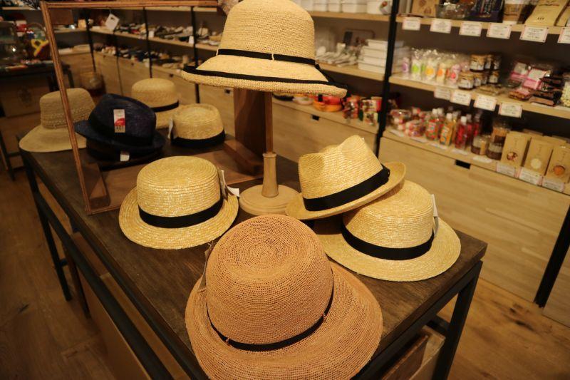 田中帽子店夏の帽子 神楽坂プリュス